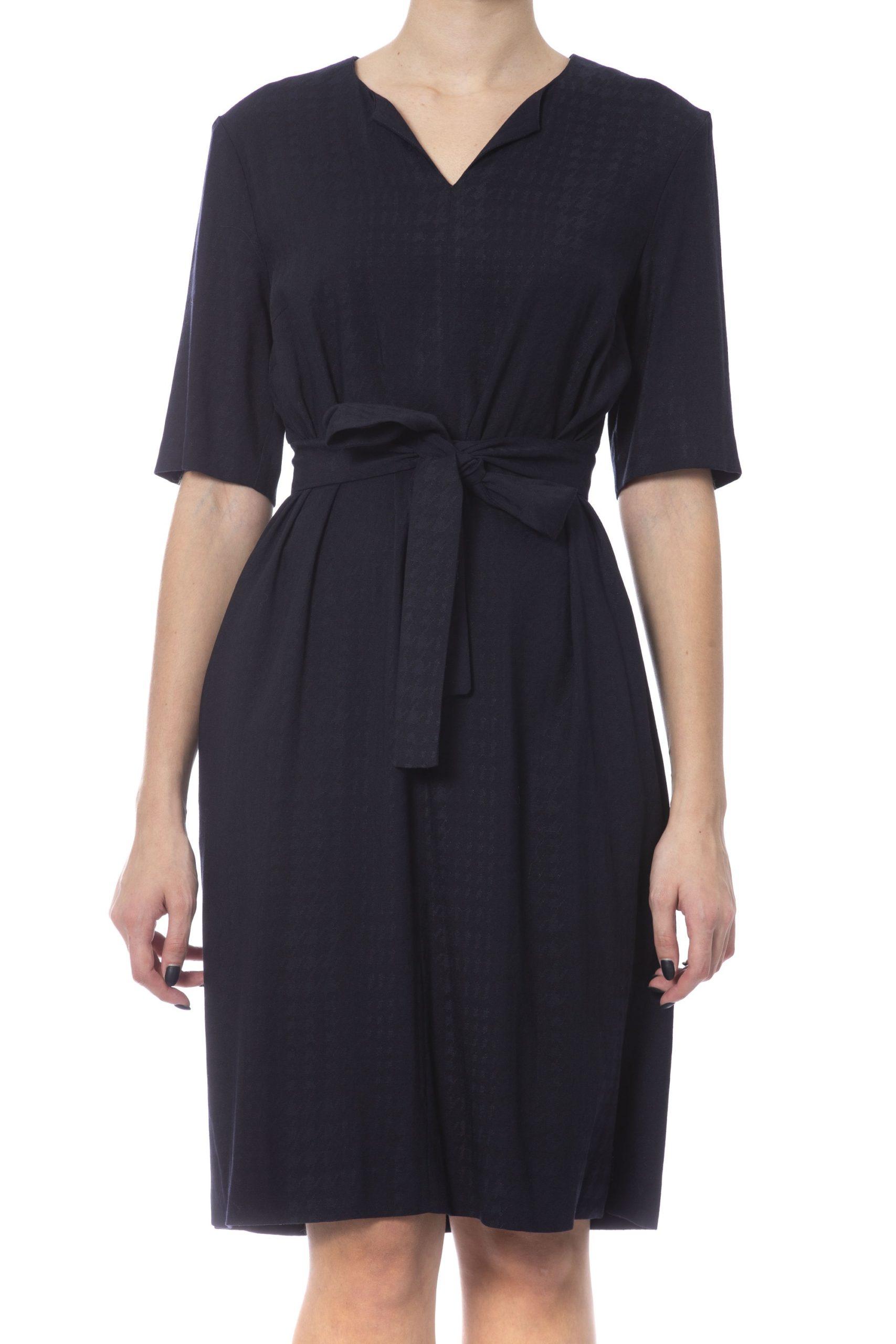Peserico Women's Dress Blue PE992544 - IT42 | S