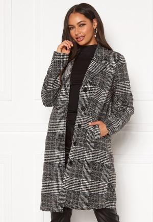 Happy Holly Corinne checked coat Checked / Black 32/34