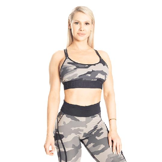 Gym Sports Bra, Tactical Camo