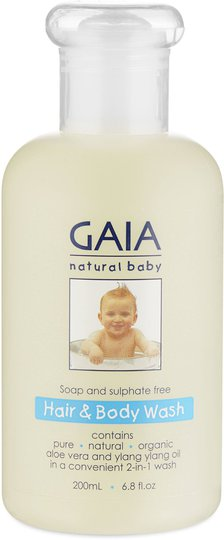 GAIA Baby Hair and Bodywash
