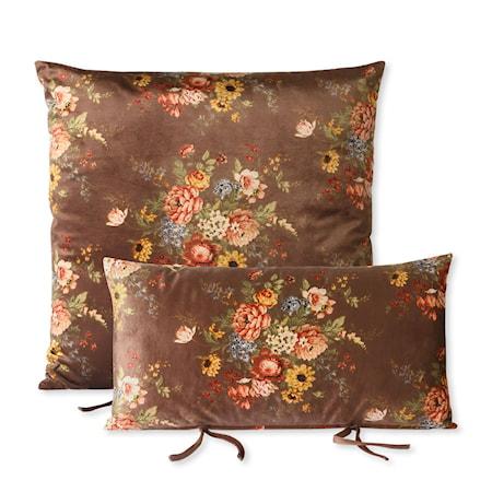 Lounge sofa Kuddset Printad sammet