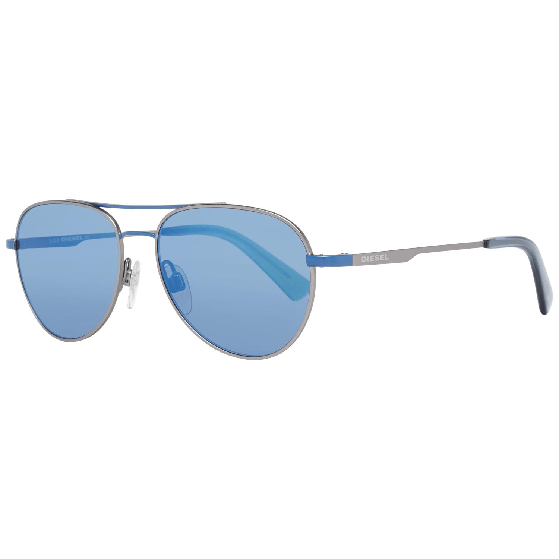 Diesel Unisex Sunglasses Blue DL0291 5092X