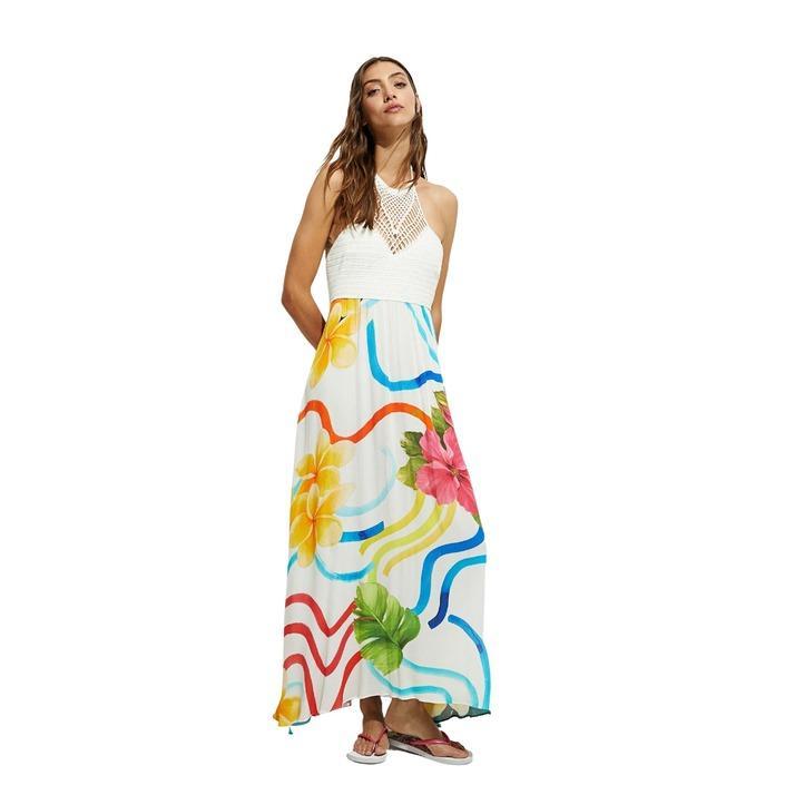 Desigual - Desigual Women Dress - white L