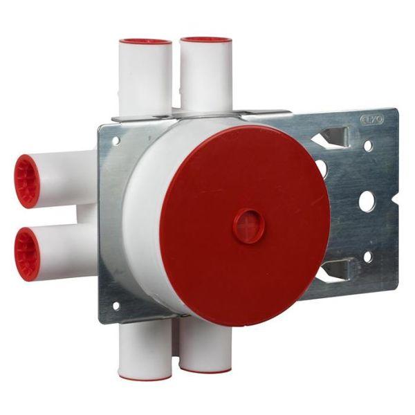 Elko EKO06503 Kytkentärasia kaksinkertaiselle kipsilevylle, palkkikiinnikkeellä