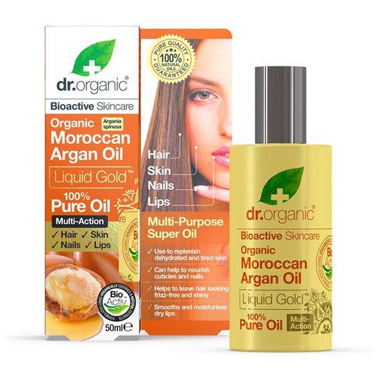 Dr. Organic Moroccan Argan Pure Oil, 50 ml