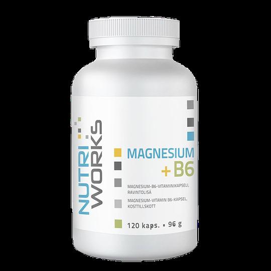 Magnesium+B6, 120 caps
