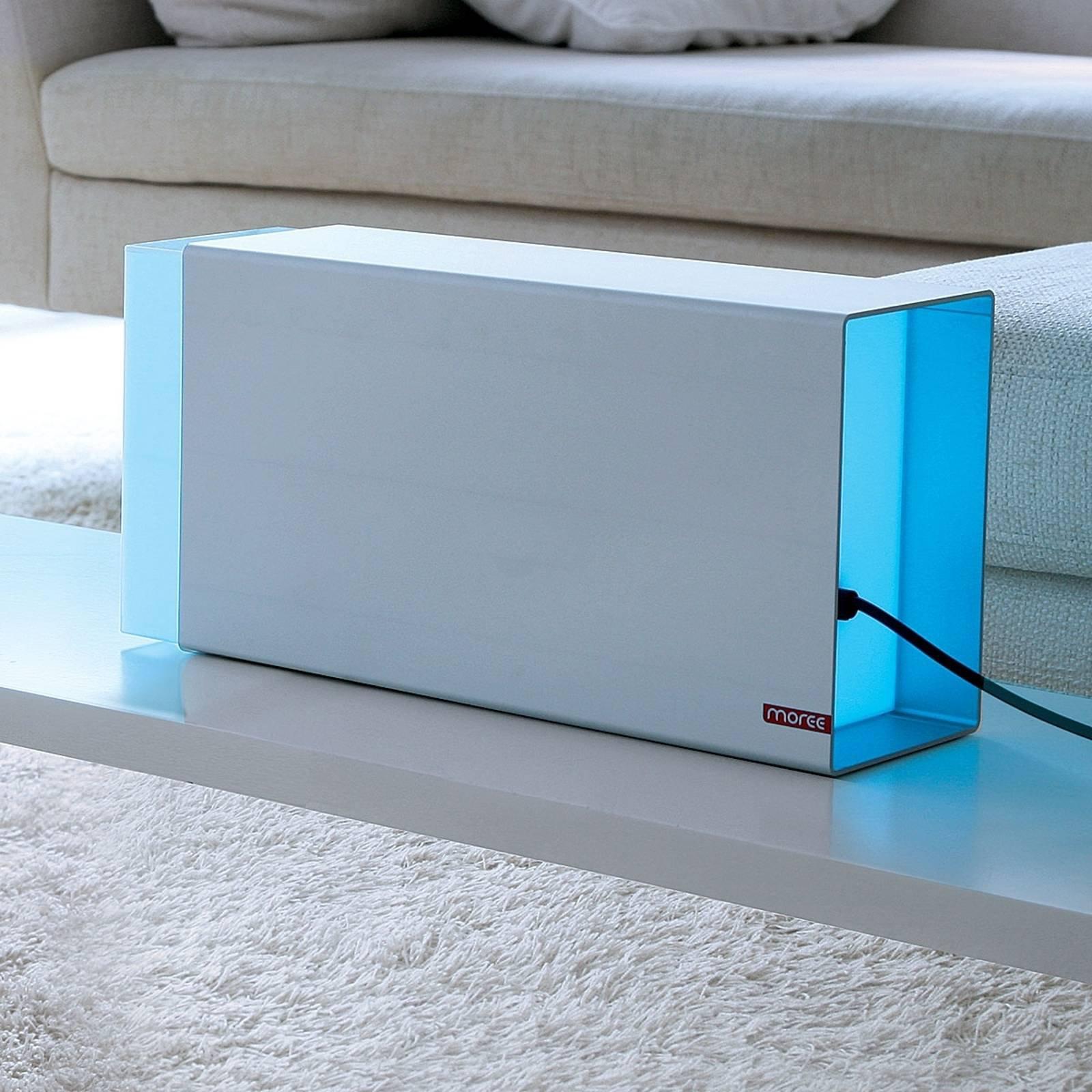 Bordlampe Eraser 380 sølv LED