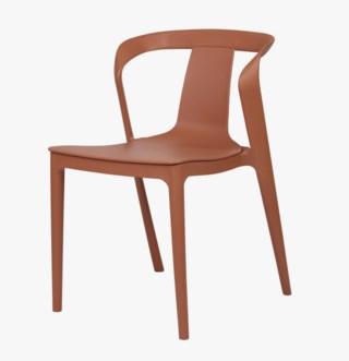 Vital tuoli terrakotta