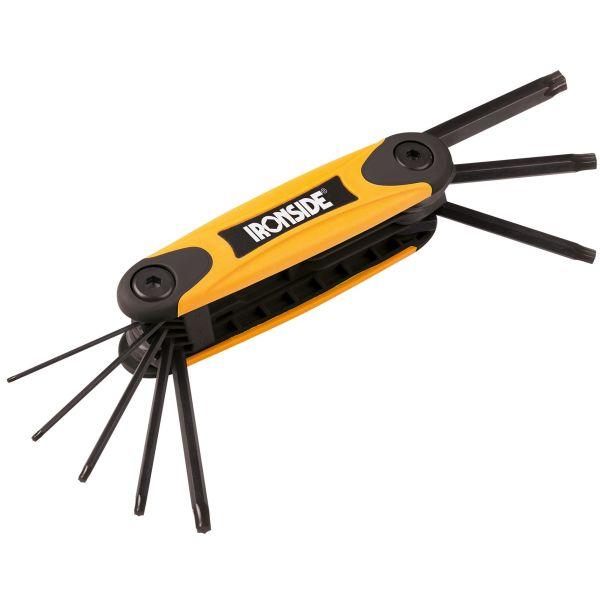 Ironside 114013 Nøkkelsett torx, TX9-TX40