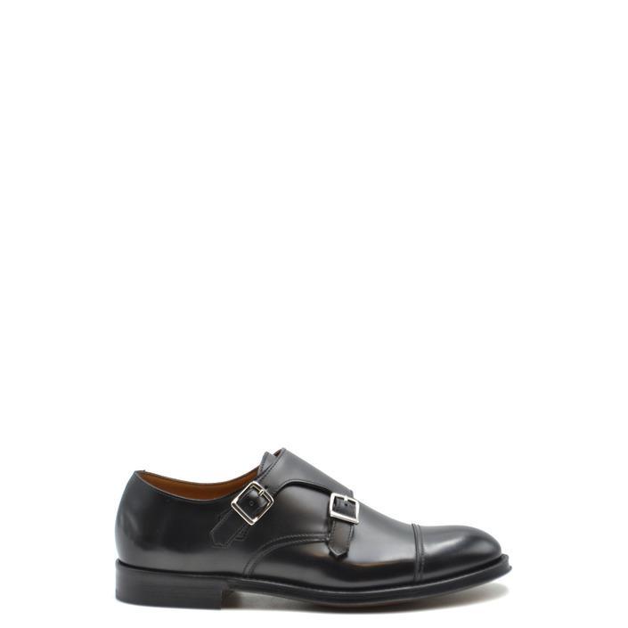 Doucal`s Men's Slip On Shoes Black 168225 - black 39