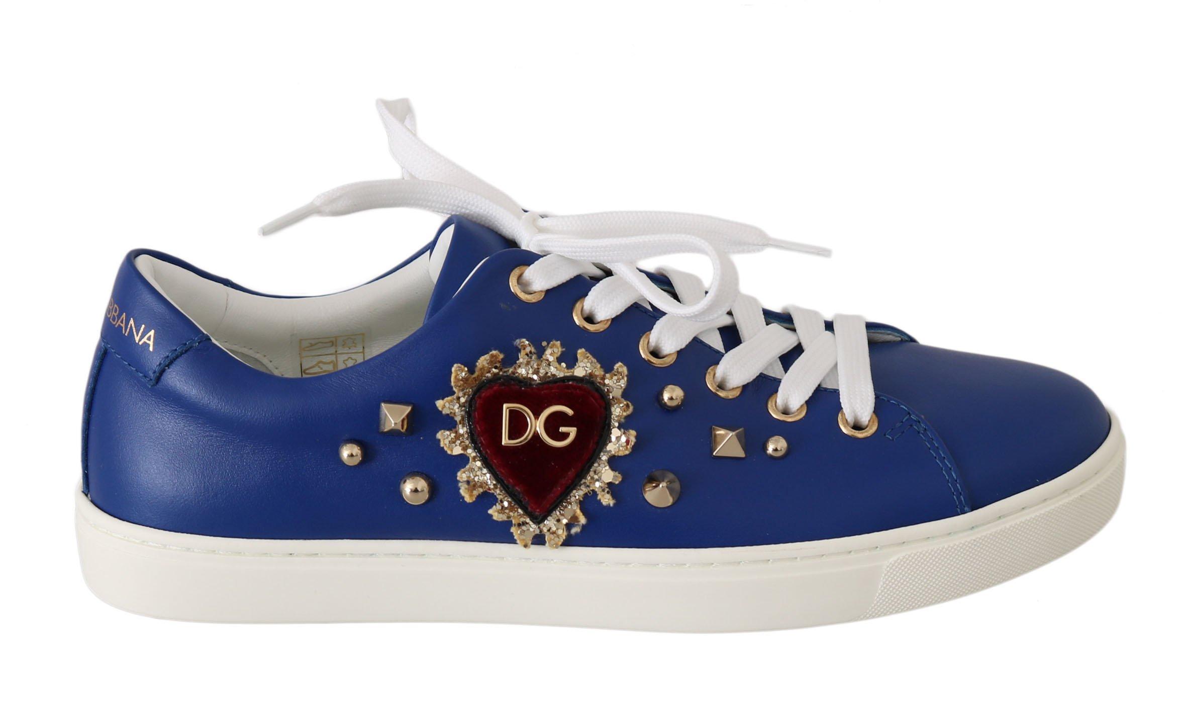 Dolce & Gabbana Women's Shoes Blue LA5976 - EU35/US4.5