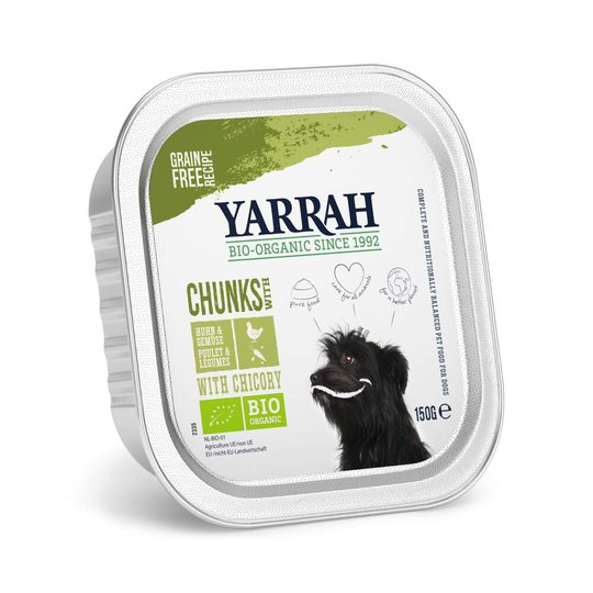Yarrah Organic Dog Chicken Chunks & Vegetables Grain Free