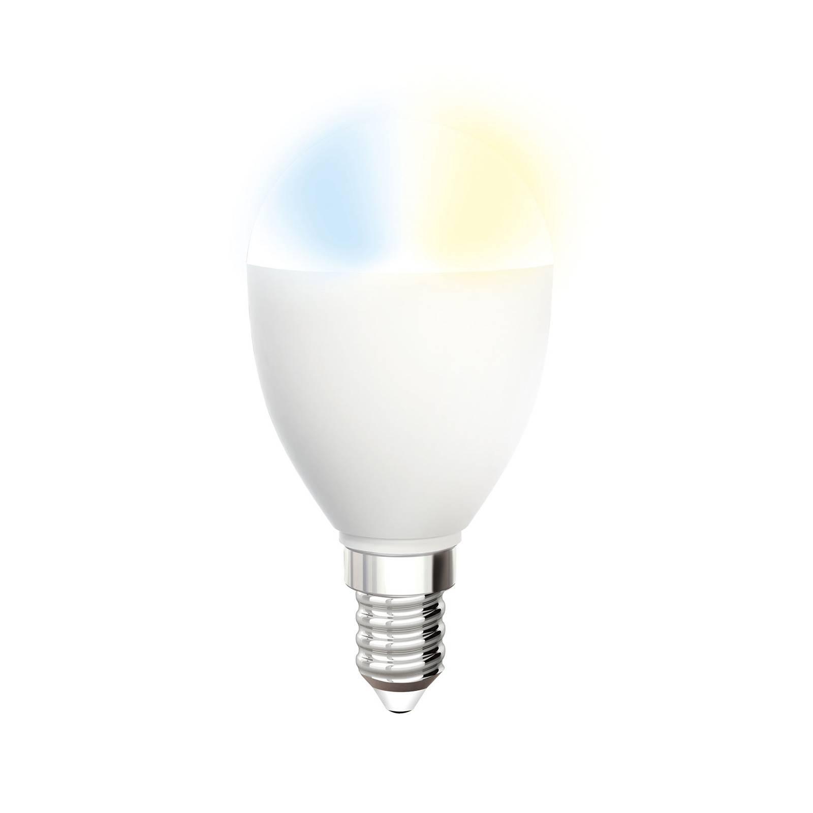 iDual Whites -LED-lamppu E14 5,5W C-type 400 lm