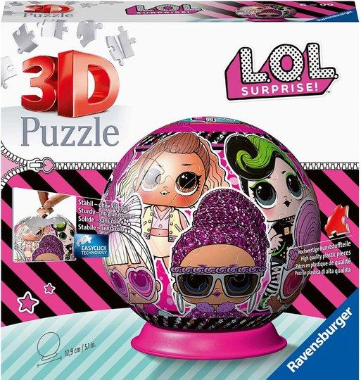 Ravensburger 3D-Puslespill L.O.L. Surprise! 72 Biter