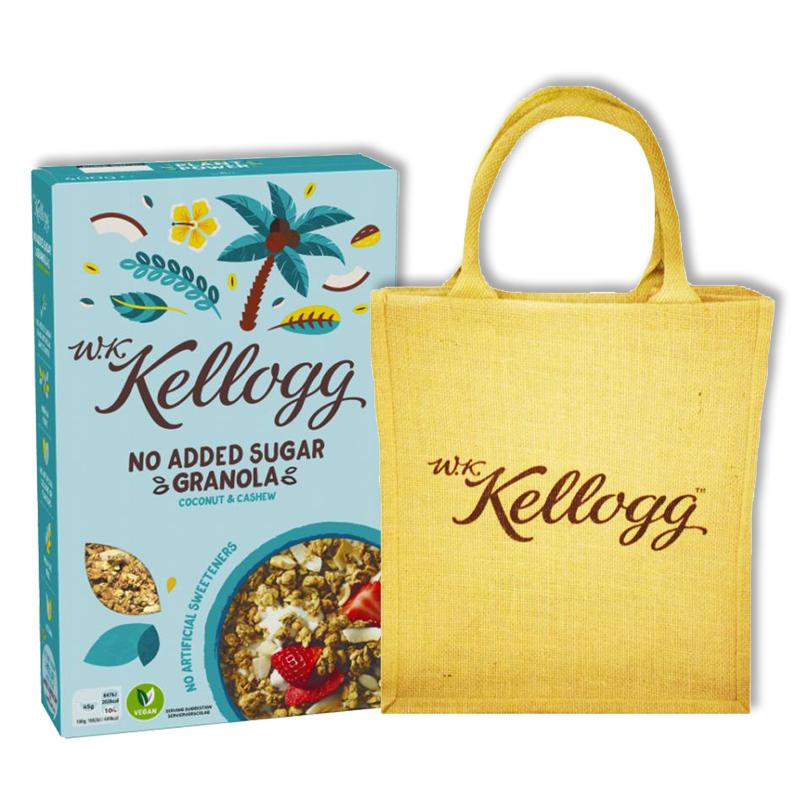 Kellogg's Mysli + Juuttikassi - 43% alennus