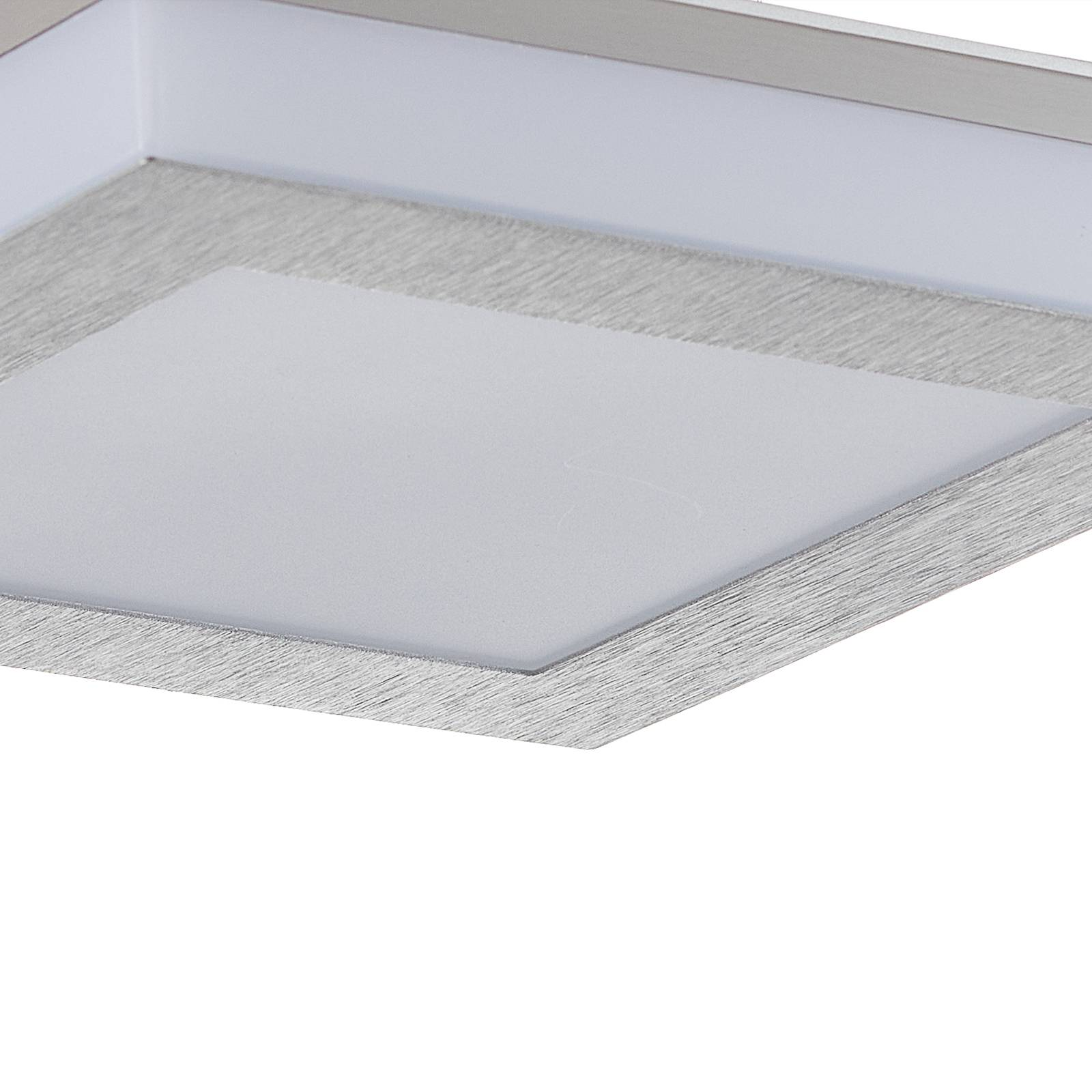 B-Leuchten Quadro LED-kattovalaisin 22x22cm