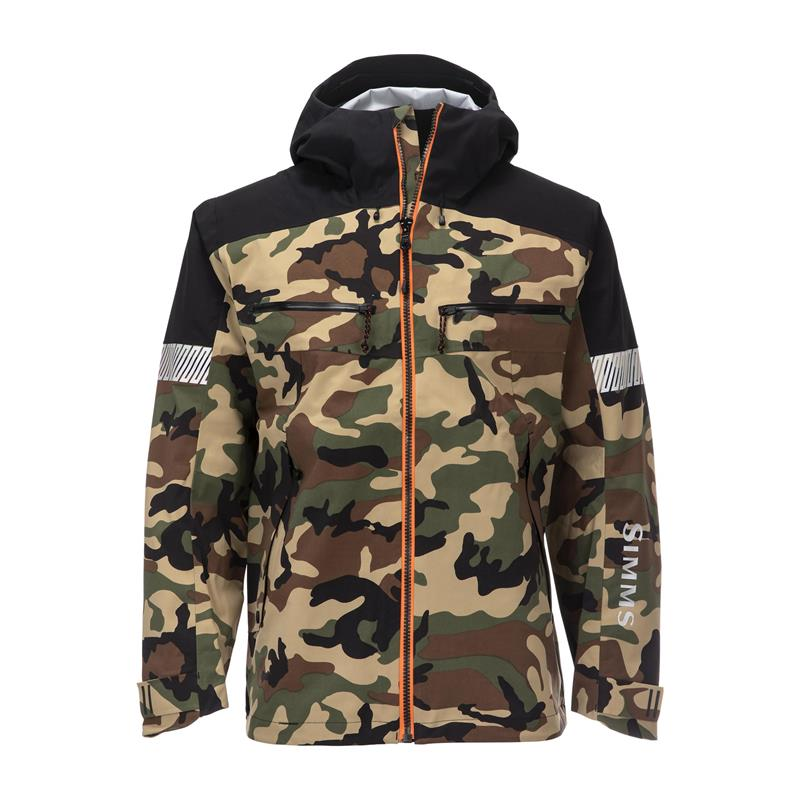 Simms CX Jacket Woodland Camo L
