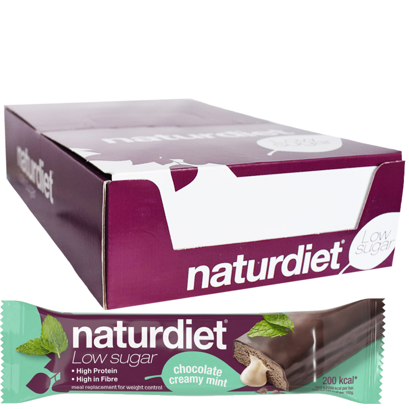 Ruokavalionkorvike Suklaa & Minttu 18kpl - 43% alennus