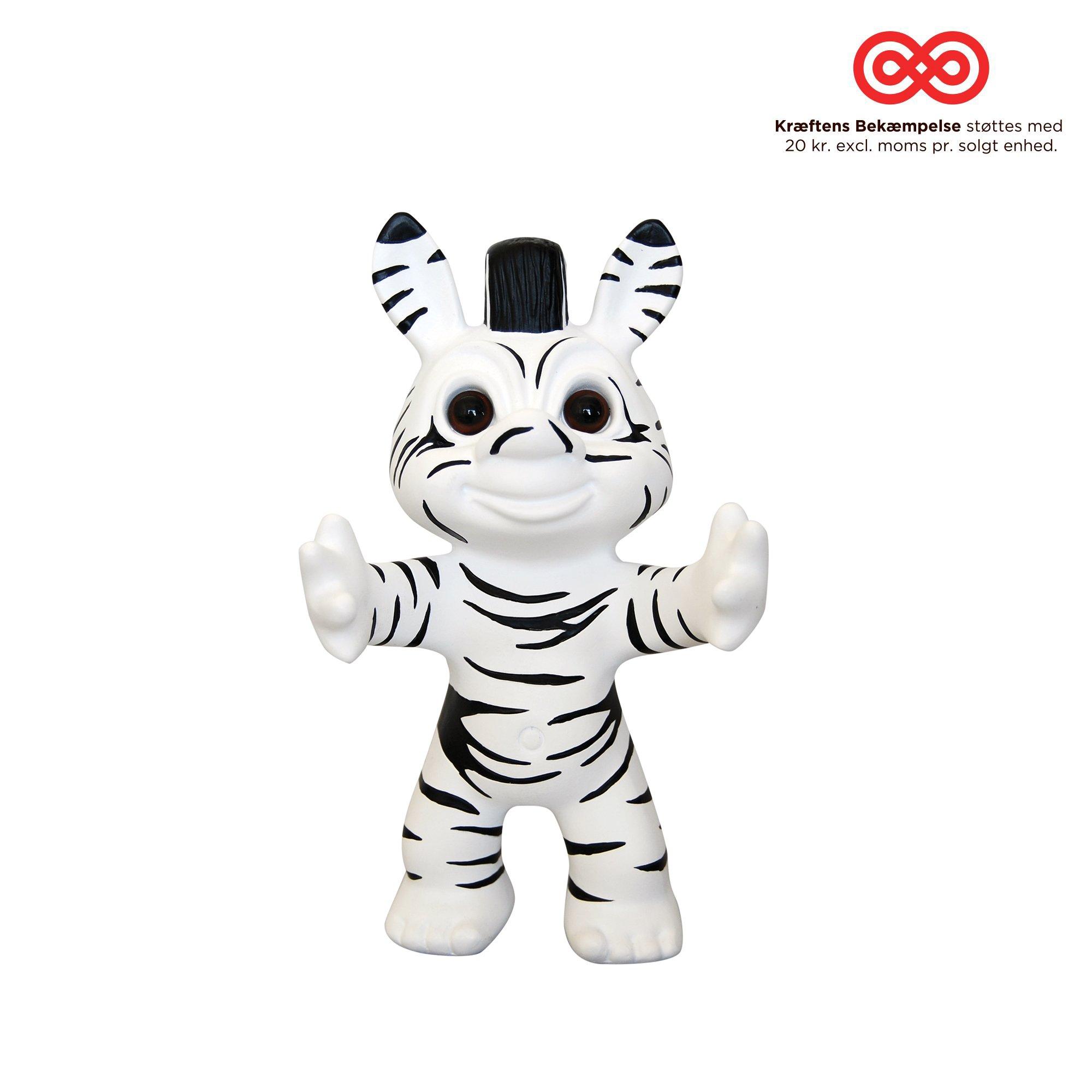 Good Luck Troll - Jimi Holstebro Zebra Troll - Small (93384)