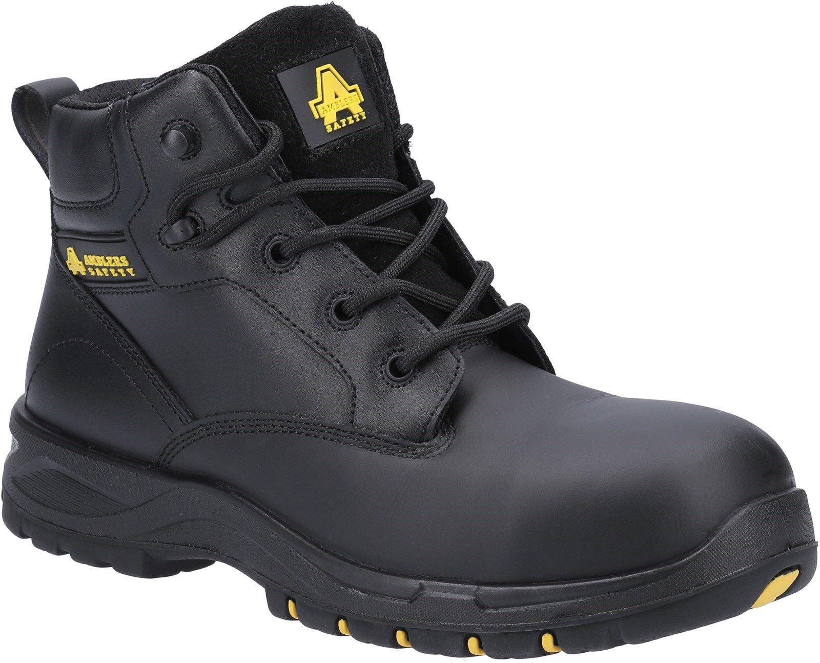 Amblers Safety Women's Boots Black 31375 - Black 3