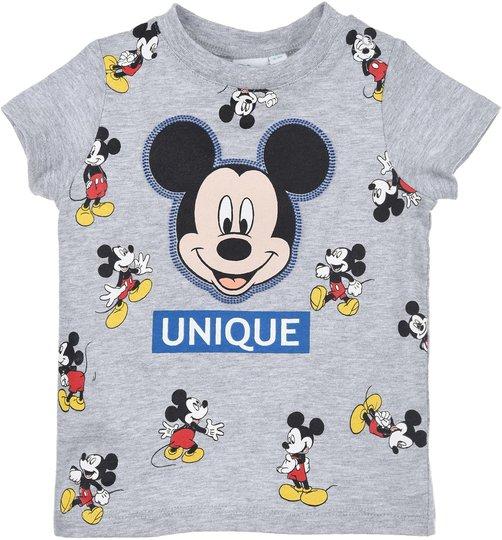 Disney Mikke Mus T-Shirt, Light Grey, 12 Månader