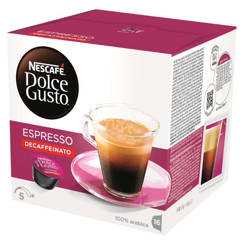 "Kaffekapslar ""Espresso Decaffeinato"" 16st - 54% rabatt"
