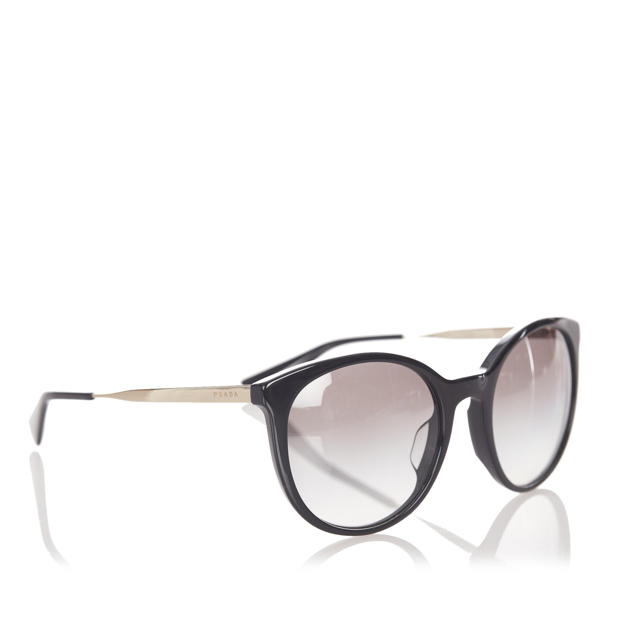 Prada Cinema Round Tinted Sunglasses, ONESIZE