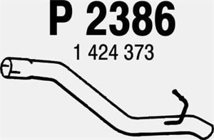 Pakoputki, Takana, FORD C-MAX, FOCUS II, FOCUS C-MAX, MAZDA 3, 3 Sedan, (Y601-40-300D), 1424373, Z601-40-300F