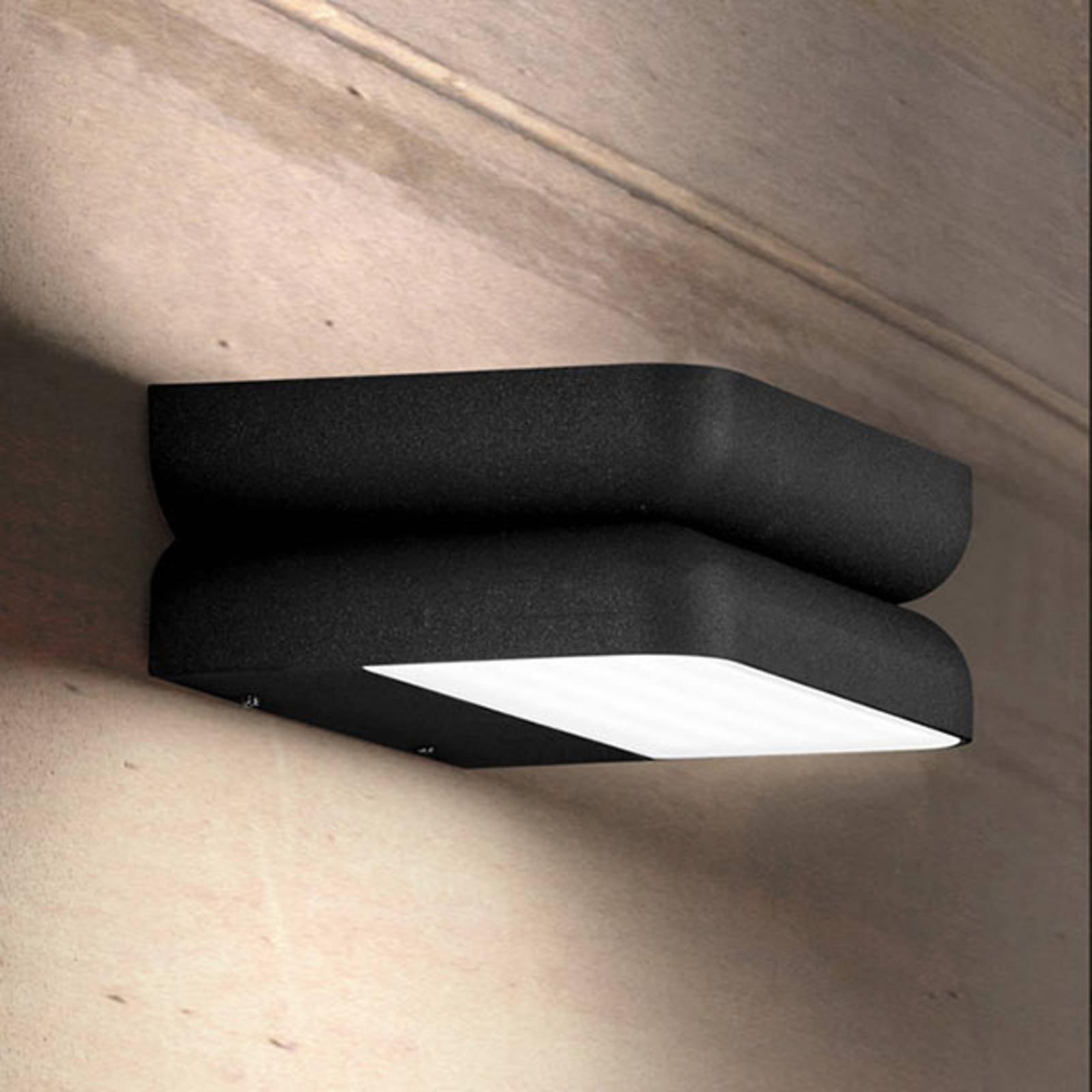 Grafittfarget utendørs LED-vegglampe Snap