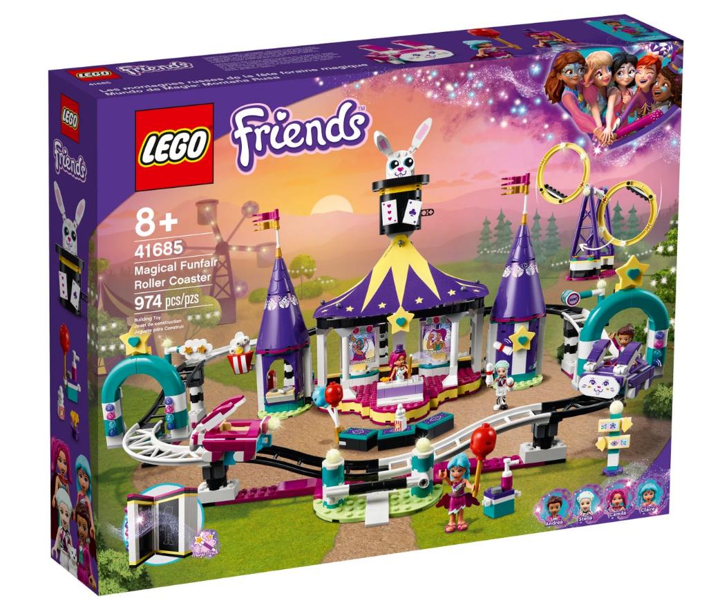LEGO Friends - Magical roller coaster ride (41685)