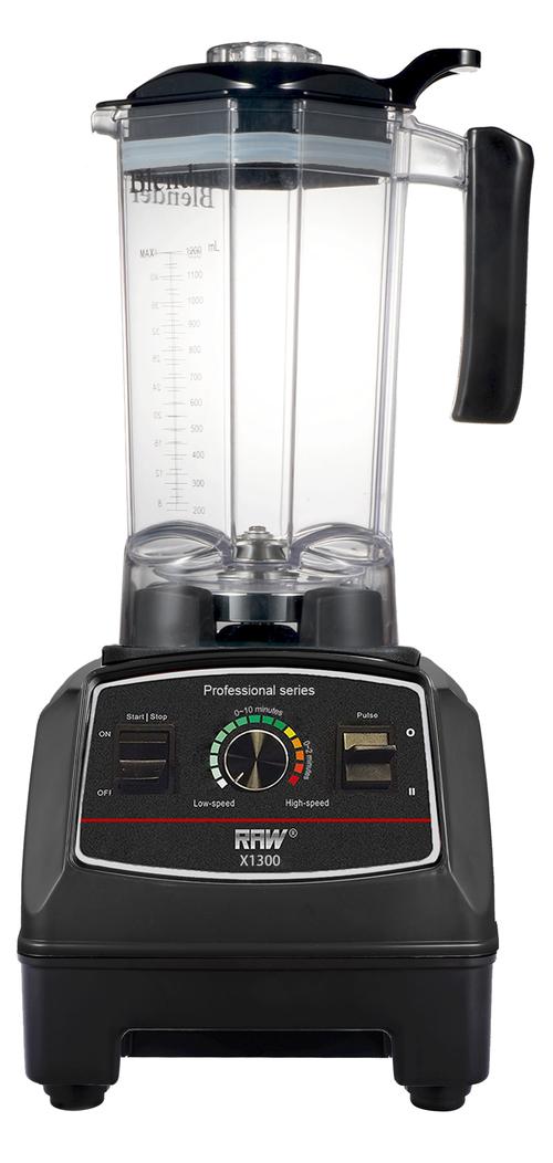 Raw X1300.b Blender 1.2l Black 1300 Watt - Svart