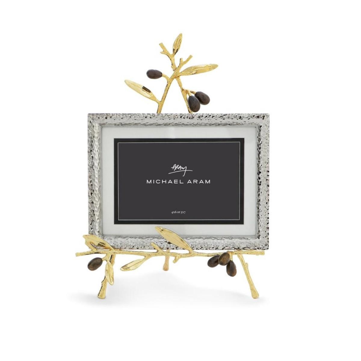 Michael Aram I Olive Branch Gold Easel Frame