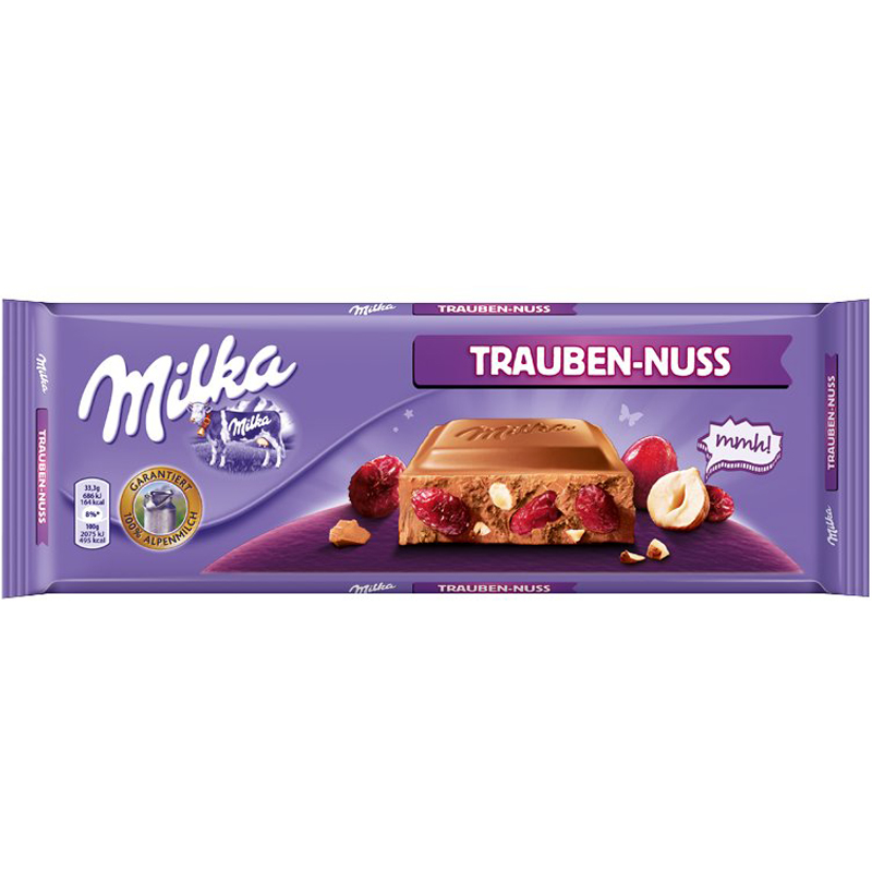 Mjölkchokladkaka Russin & Hasselnötter 300g - 44% rabatt