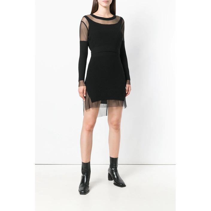 Diesel Women's Dress Black 298563 - black 2XS