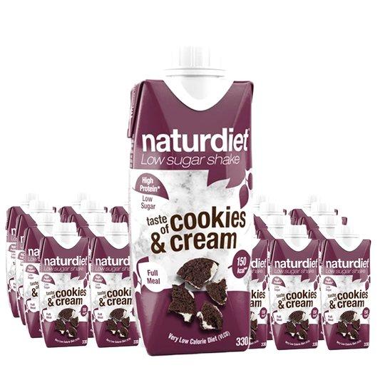Måltidsersättning Shake Cookies & Cream 24-pack - 28% rabatt