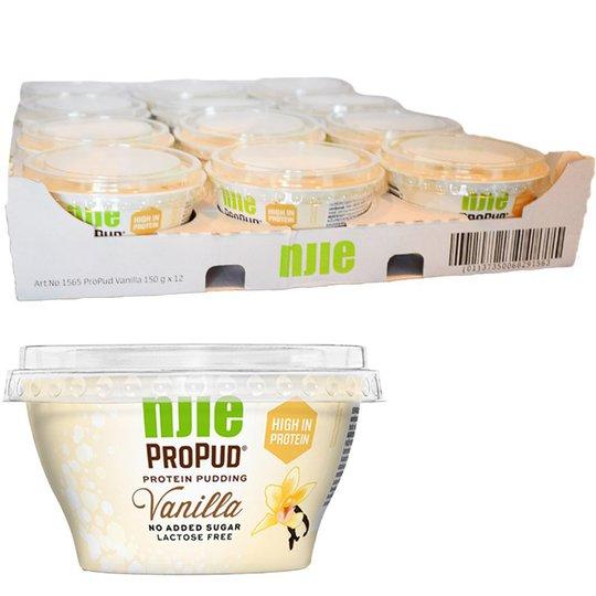Proteinpudding Vanilj 12-pack - 60% rabatt
