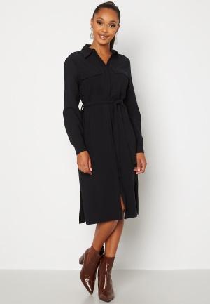 Happy Holly Alina shirt dress Black 52/54