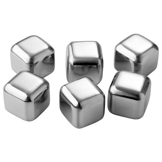 Pulito Iskub Rostfritt stål, 6-pack
