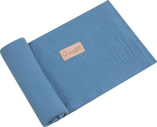 Albero Mio Swaddle blanket, Mørkeblå