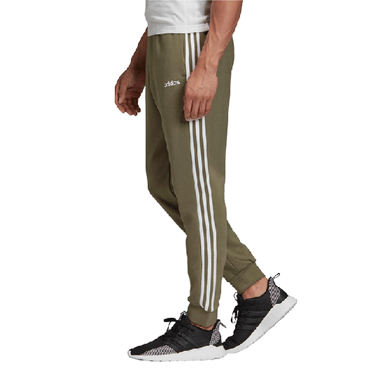 Adidas Essential 3 Stripe Tapered Fit Pnt, Green