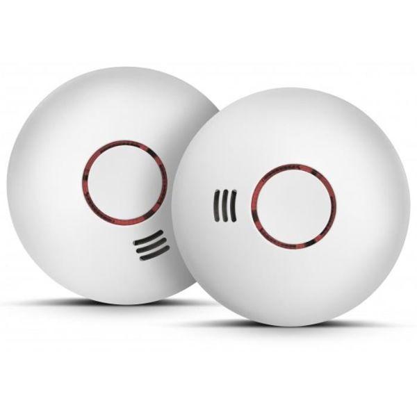 Housegard Origo SA422WS-S2 Brannvarsler optisk, trådløs, 2-pakning