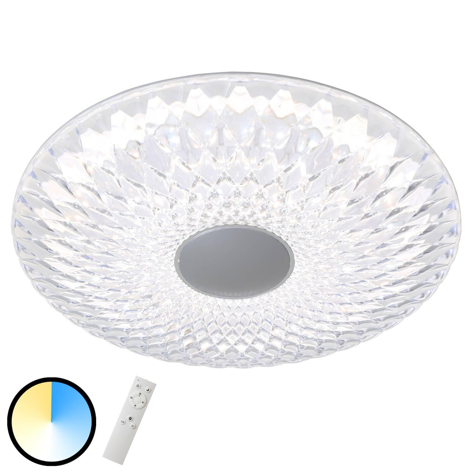LED-taklampe 3354-010 Space med fjernkontroll