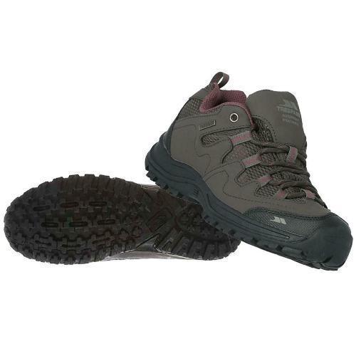 Trespass Women's Low Cut Waterproof Walking Hiking Shoes Coffee Mitzi - Coffee K-4 / EU-37