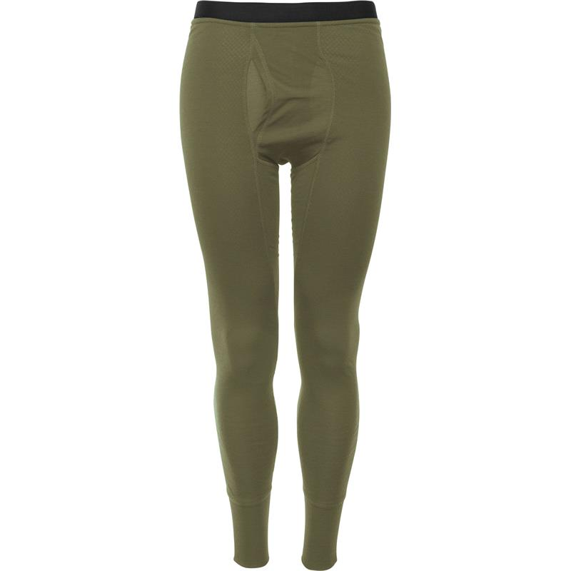 Brynje Arctic Tactical Longs W/Fly XL Olive Green