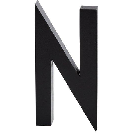 Design Letters Bokstav Grå i Aluminium 50 mm, N