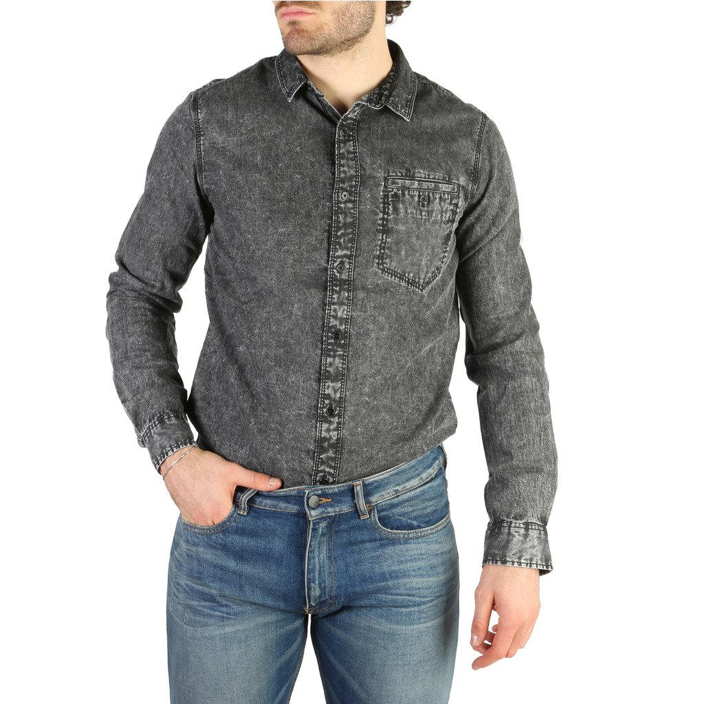 Calvin Klein Men's Shirts Black 326768 - black M