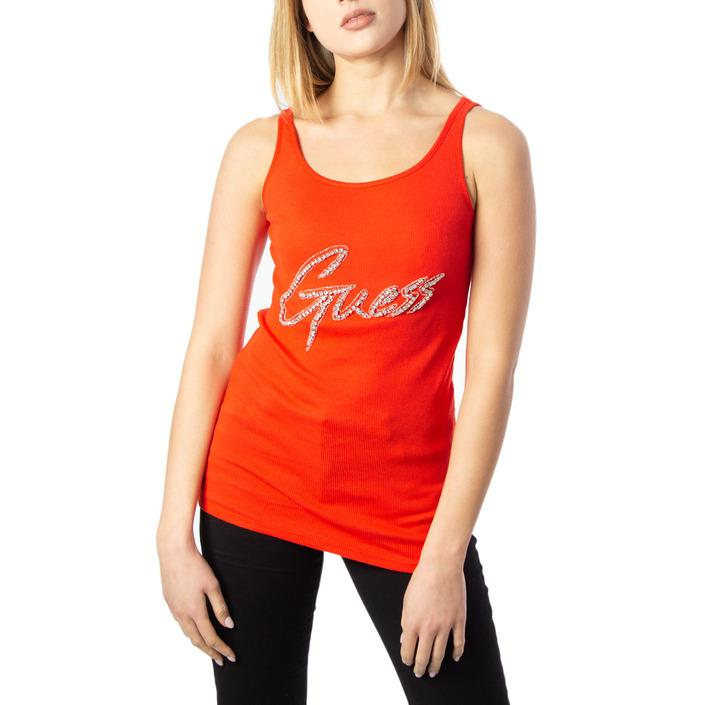 Guess Women's Top Orange 170550 - orange M