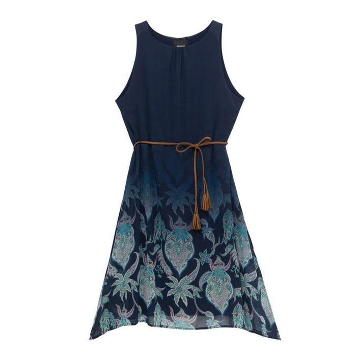 Desigual - Desigual Women Dress - blue S