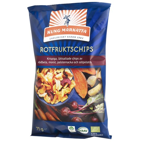 Eko Rotfruktschips 75g - 49% rabatt