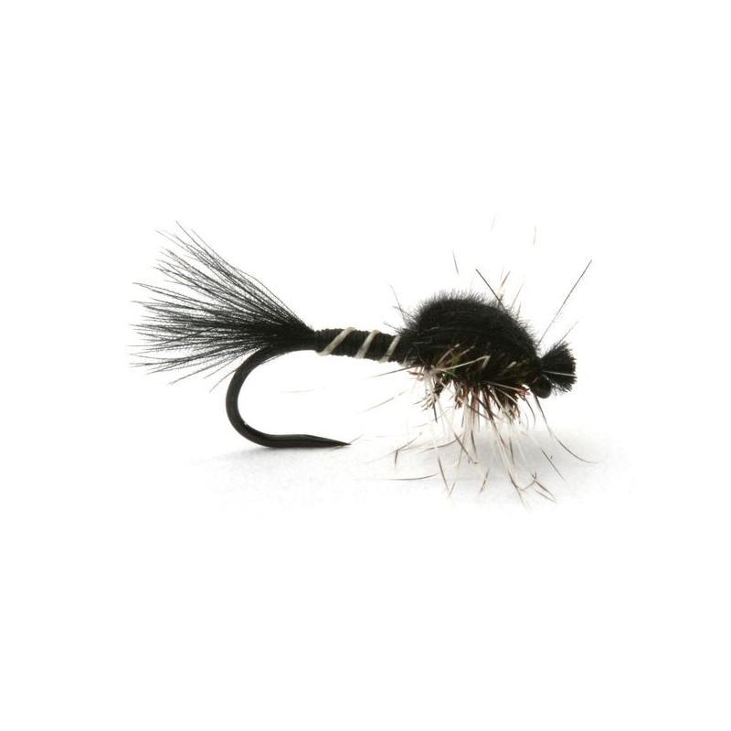 Hatching Midge Black/Grey #18 Kjøp 12 fluer få gratis flueboks